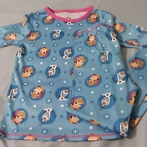 Girls Disney Frozen Pajamas